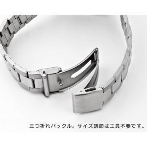 メンズ 電波ソーラー腕時計 腕時計 ソーラー電波 マルマンプロダクツ製 グリニッジ|wide02|03