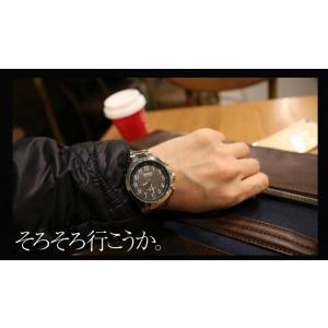 メンズ 電波ソーラー腕時計 腕時計 ソーラー電波 マルマンプロダクツ製 グリニッジ|wide02|05