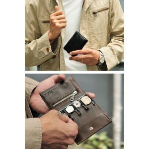 コインケース 小銭入れ コインキャッチャー 牛革 本革 財布 メンズ wide02 03