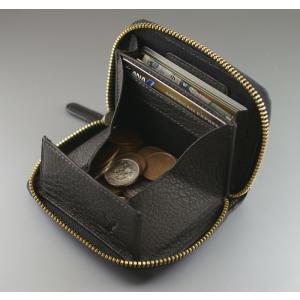 鹿革 ミラグロ ボックス型小銭入れ 財布 コインケース メンズ Milagro ディアレザー 横型 HK-D-530|wide02|02