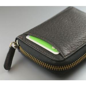 鹿革 ミラグロ ボックス型小銭入れ 財布 コインケース メンズ Milagro ディアレザー 横型 HK-D-530|wide02|03