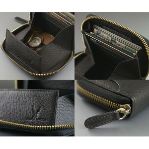 鹿革 ミラグロ ボックス型小銭入れ 財布 コインケース メンズ Milagro ディアレザー 横型 HK-D-530|wide02|04