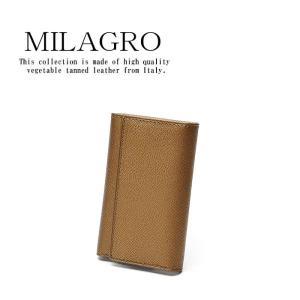 メンズ キーケース キーホルダー 金 ミラグロ Milagro 男のゴールド キーケース HK-G-503 wide02