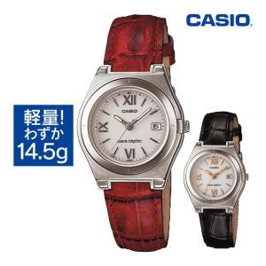 カシオ 腕時計 電波ソーラー レディース 5気圧防水 ウェー...