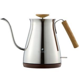 細い注ぎ口で、注湯の量がコントロールしやすくコーヒー粉に適量の湯を注ぎやすいため コーヒーのハンドド...