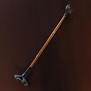 介護用杖 杖 4点杖 四点杖 歩行補助 安定 自立 伸縮 長さ調節可能  10段階 父 母 男性 女性  4点支持 ゴム 倒れにくい 介護用品 おしゃれ 4脚 ステッキ|wide
