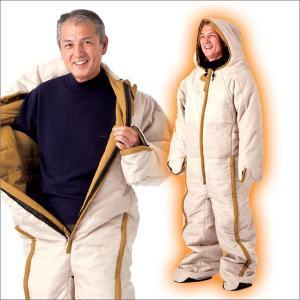 【送料無料】 NEW 動ける寝袋 動けるあったか寝袋 人型寝袋 ねぶくろ ネブクロ 人型シュラフ 着る寝袋 人型冬用 寝袋 防寒 専用収納バッグ付き 74300 wide
