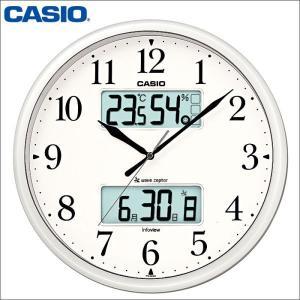 壁掛け時計/とけい/かべかけどけい/CASIO カシオ電波壁掛け時計ITM-660NJ-8JF|wide