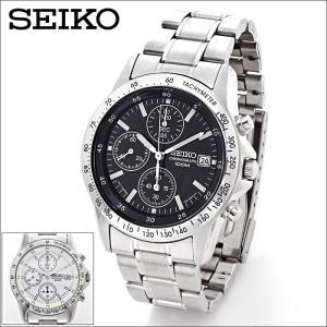 腕時計 メンズ セイコー クロノグラフ メンズ腕時計 逆輸入 父の日 プレゼント 誕生日 ギフト SND アナログ クォーツ 防水 10気圧防水 ストップウォッチ SEIKO|wide