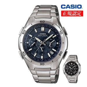現在、【ポイント5倍キャンペーン中】  クロノグラフソーラー電波時計。  ステンレス製の大型ベゼルを...