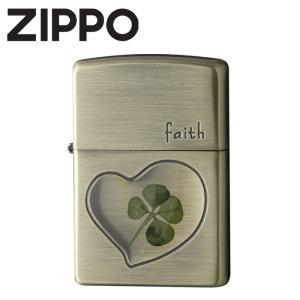 ジッポ ライター ZIPPO 四つ葉 本物のクローバー使用! ブランド  おしゃれ メンズ|wide