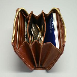 メンズ 財布 二つ折り財布 コインケース 小銭入れ メンズ BOX型小銭入れ ミラグロ イタリアンレザーヌメ革|wide|03