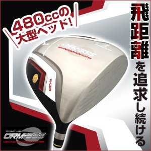 ゴルフクラブ ドライバー 高反発 ドデカヘッド 大型ヘッド 480cc 飛距離 オリマー チタンドライバー R SR 飛ぶドライバー 練習用 カーボンシャフト ORM-555|wide