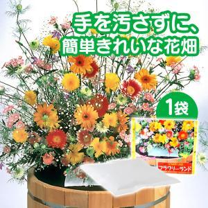 母の日 遅れてごめんね 2020 花の種 ブレンドパック フラワリーランド 1パック 秋蒔き 春蒔き 栽培 種まき 簡単 ガーデニング 庭造り 珍しい花の種|wide