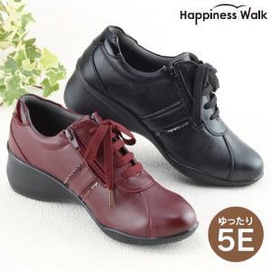 靴 レディース ウォーキングシューズ  外反母趾対策 5E 幅広 甲高 健康シューズ 女性用 婦人靴 歩きやすい|wide