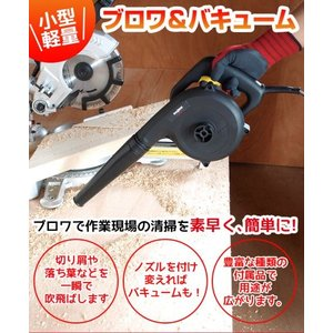 落ち葉 掃除機 ブロワー ブロアーバキューム 集塵機 粉じ ん 粉塵 枯葉掃除機 切り屑 BW-6 00PA|wide|02