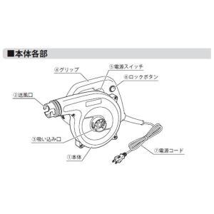 落ち葉 掃除機 ブロワー ブロアーバキューム 集塵機 粉じ ん 粉塵 枯葉掃除機 切り屑 BW-6 00PA|wide|04