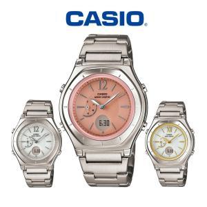 ホワイトデー お返し 2020 ギフト 腕時計 レディース 電波ソーラー カシオ CASIO 電波ソーラー腕時計 電波時計 ウェーブセプター ブランド 社会人|wide
