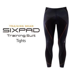 【直送】シックスパッド トレーニングスーツ タイツ|wide