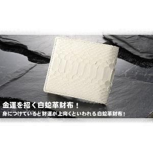 白蛇財布/二つ折り財布サイフさいふ/開運|wide|02