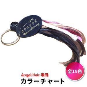 AngelHair専用 エクステ カラーチャート|wig-lab