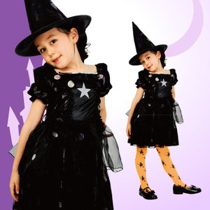 メルヘンウィッチ 子供100 キッズ 女の子 コスチューム ハロウィン 衣装 仮装 コスプレ
