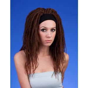 注目商品 ストアのイチオシ オリジナル ドレッド ハーフウィッグ 最高級 かつら W-329|wigs2you