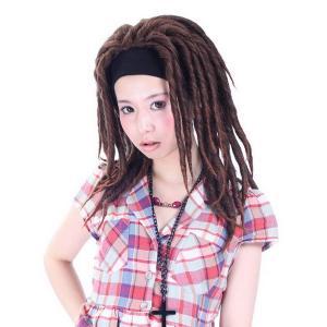注目商品 ストアのイチオシ オリジナル ドレッド ハーフウィッグ 最高級 かつら W-566|wigs2you