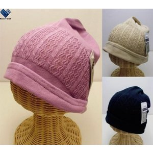 医療用帽子 キャップ 室内 ニット 抗がん剤 手術 SEKマーク|wigshop