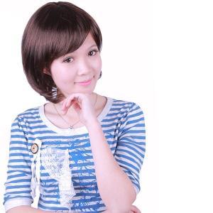 送料無料!100%人毛ショートウィッグ(IC2040−3H)オーダーメイド!|wigshop