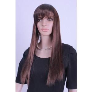 送料無料!100%人毛ロングウィッグ(IC5002-2-30H)オーダーメイド!|wigshop