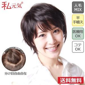 人毛 フルウィッグ ウィッグ ショート ボブ 私元気 JH301001P-N2|wigshop
