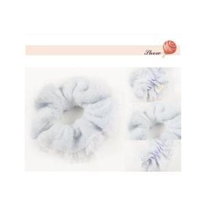 シュシュ・ふわもこシュシュ・ヘアーアクセサリー・ふわもこヘアーアクセサリー(LC1110-2147)|wigshop