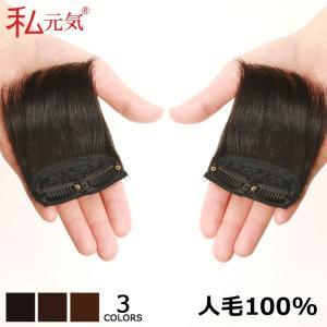 ミニつけ毛 人毛100% S【2個セット】増毛 ポイントウィッグ 私元気 MINI7|wigshop