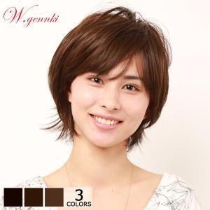 ウィッグ ショート 女性 かつら フルウィッグ 私元気 S20-C9|wigshop