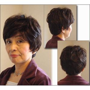 ウィッグ ショート 送料無料 ショートウィッグ ミセス ミセスウィッグ 医療 白髪 かつら tm2|wigwigrunes