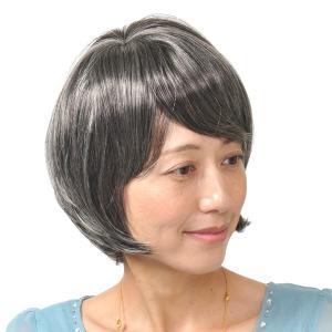 ウィッグ ショート フルウィッグ 送料無料 医療 かつら 白髪 人気 ミセス 6447a|wigwigrunes