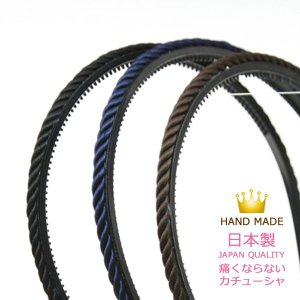 カチューシャ 編み込み スパイラル 痛くならないカチューシャ 細い ブレード br15|wigwigrunes