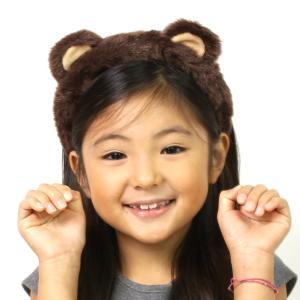 くま コスプレ カチューシャ 熊 ハロウィン セール 動物カチューシャ kumaoutlet|wigwigrunes