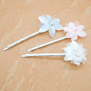 ヘアピン お花 花 フラワー 結婚式|wigwigrunes