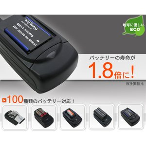 エコモード搭載 SONY NP-BG1/NP-FG1用 互換充電器 wil-mart