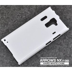ARROWS NX(アローズNX) F-06E用ハードホワイトケース wil-mart