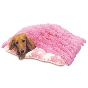 寝ぶくろ 保温クッション (S) クリスタル 犬・猫用あったかベッド 秋冬 ペット用寝袋 ドギーマン|wil-mart