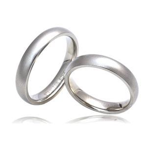 オリジナル刻印無料■ステンレス マットリング 【5-23号】 男女兼用指輪|wil-mart