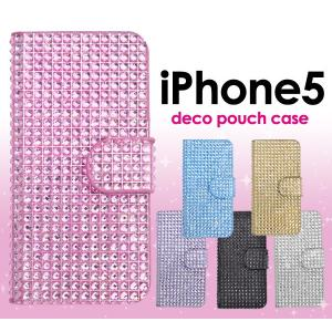 iPhone5/5S/5SE(アイフォン5/5S/5SE)用 デコポーチケース|wil-mart