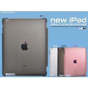 iPad3/iPad4(アイパッド4)用 セミクリアケース|wil-mart