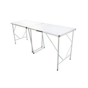 ロングタイプ 折りたたみテーブル 幅198×縦60×高さ77.5cm wil-mart
