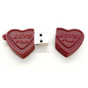 おもしろUSBメモリ16GB!ハートチョコ型USBメモリ|wil-mart