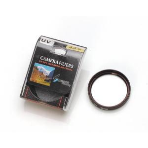 カメラ用UVカット フィルター■AF対応(フィルター径:43mm)|wil-mart