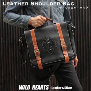 メンズ 本革 ビジネスバッグ ブリーフケース  レザーショルダーバッグ メッセンジャーバッグ  (ID bb3356t5)|wild-hearts